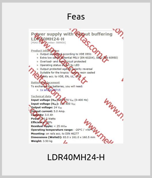 Feas - LDR40MH24-H