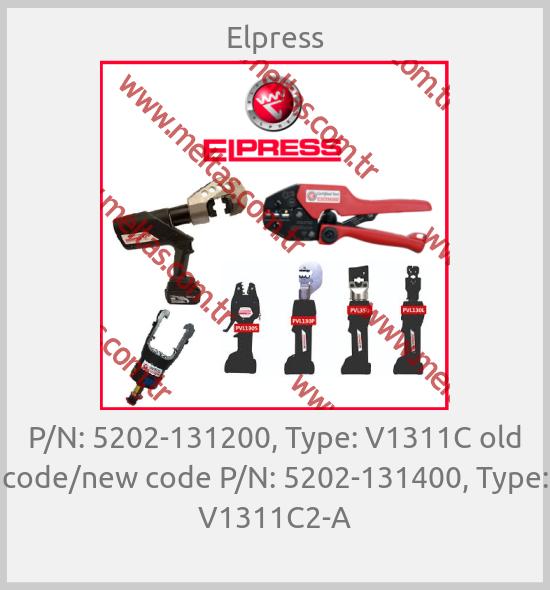 Elpress - P/N: 5202-131200, Type: V1311C old code/new code P/N: 5202-131400, Type: V1311C2-A