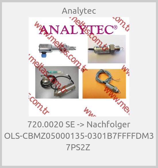 Analytec - 720.0020 SE -> Nachfolger OLS-CBMZ05000135-0301B7FFFFDM3 7PS2Z