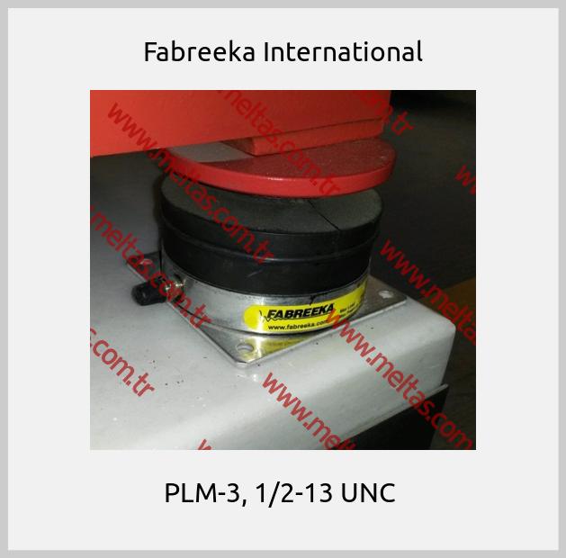 Fabreeka International - PLM-3, 1/2-13 UNC