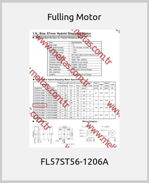 Fulling Motor - FL57ST56-1206A
