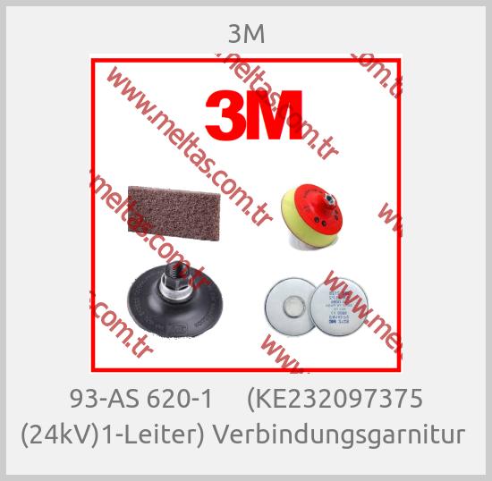 3M-93-AS 620-1     (KE232097375 (24kV)1-Leiter) Verbindungsgarnitur