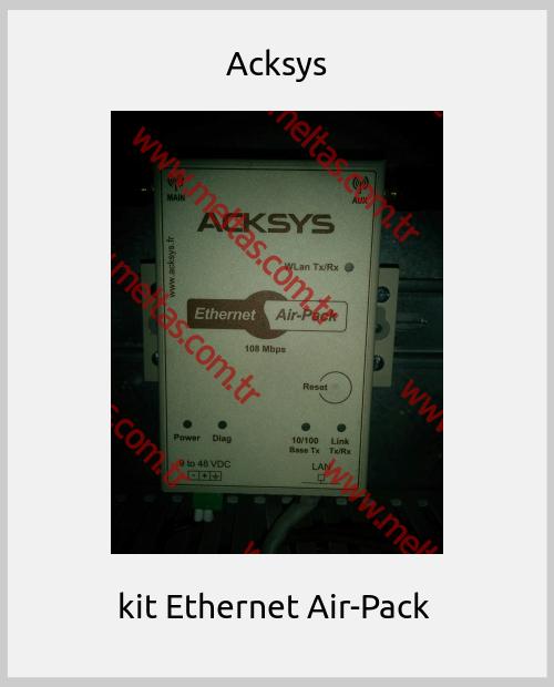Acksys -  kit Ethernet Air-Pack