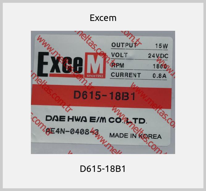 Excem - D615-18B1