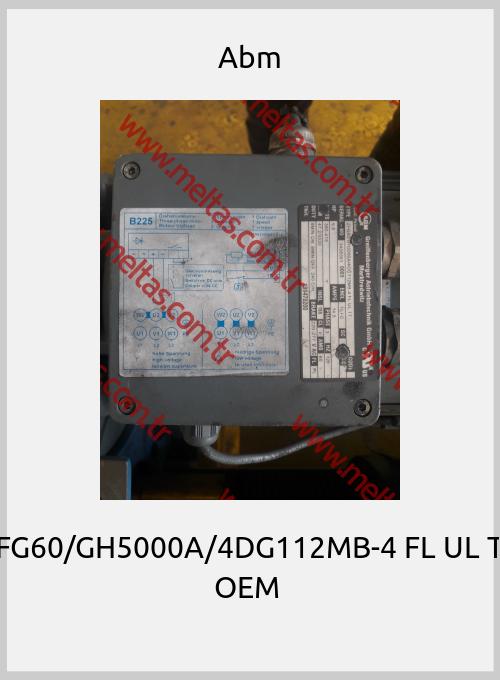 Abm-ZFG60/GH5000A/4DG112MB-4 FL UL TT OEM