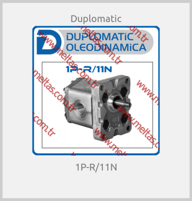 Duplomatic - 1P-R/11N