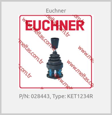 Euchner - P/N: 028443, Type: KET1234R